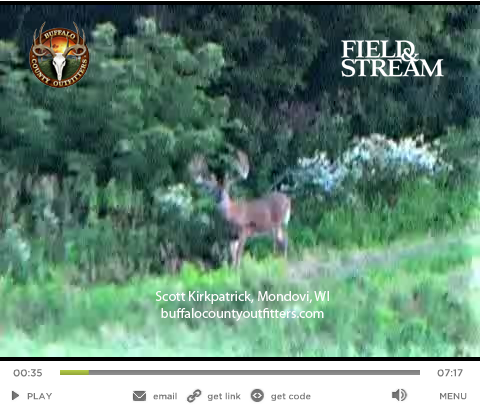 Exclusive Video: Is This the Walking Record Whitetail?